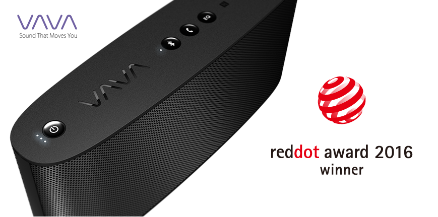 VAVA Voom Wins Red Dot Award: Product Design 2016