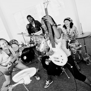 VAVA Rocks out with Bay Area Girls Rock – A Camp Teaching Girls Real Life Lessons Through Music