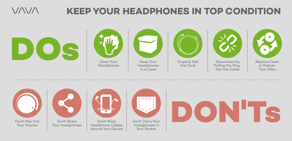 The Key Dos and Don'ts to Keep your Headphones in Top Condition