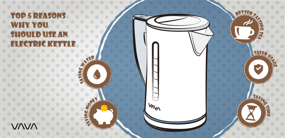 Top 5 Reasons Why You Should Use an Electric Kettle