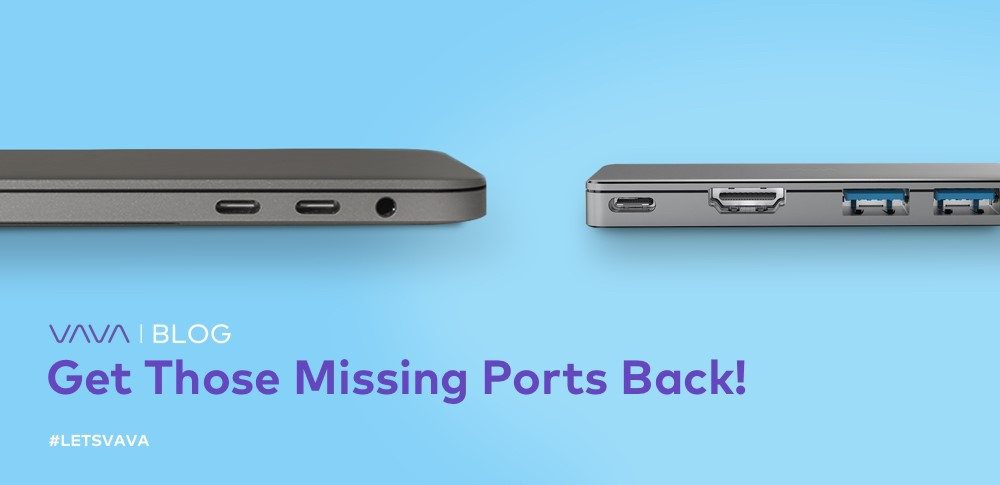 Here's How to Get Back Those Missing Ports on Your MacBook or Surface!