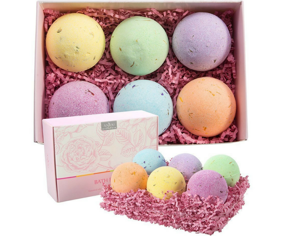 Anjou Bath Bombs Spa Shower Relax R&R