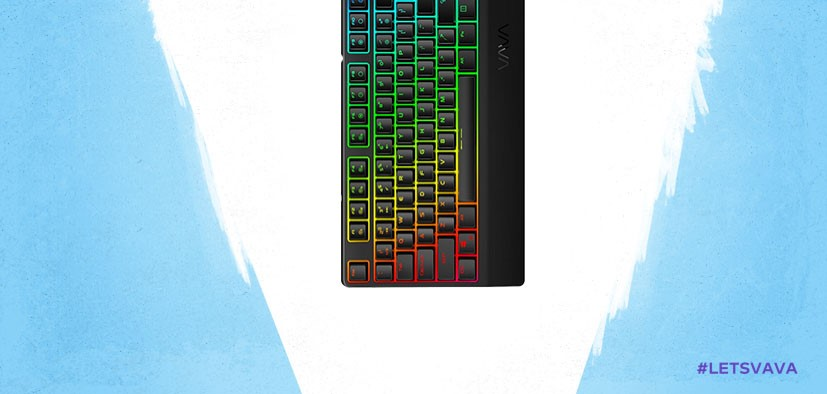 VAVA VA-GE001 Gaming RGB Keyboard