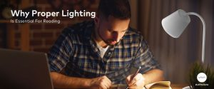 is lighting while reading VAVA Why Proper Lighting is Essential For Reading 1200 x 500